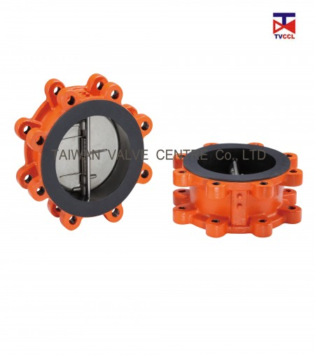 Dual Plate Lug Type Check Valve with Full Rubber - Lug check valve with full rubber Design.