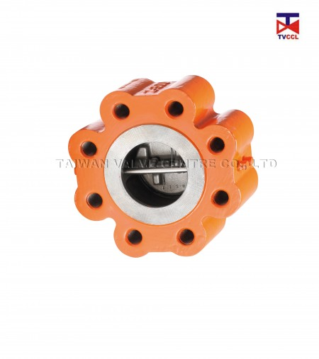 Stainless Steel Dual Plate Full Lug Type Check Valve