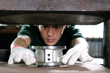가열 및 접착 체크 밸브 시트