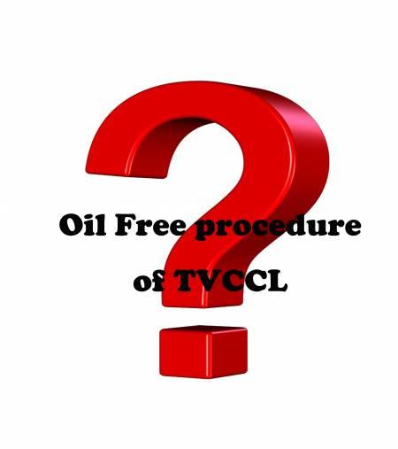 Q.Oil Free procedure - Oil Free procedure