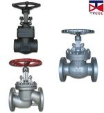 Globe valves for water and waste water treatment