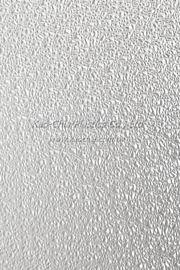 General Purpose Polystyrene Patterned Sheet - Ice