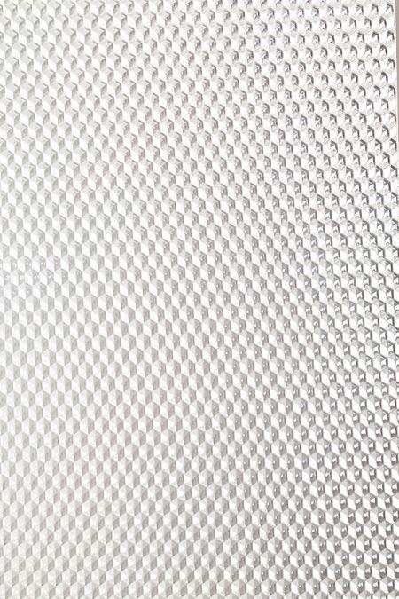 Lembaran Berpola GPPS Transparan-Heksagon