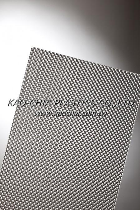 GPPS Sheet-Patterned Sheet-Transparent Big Rhombus