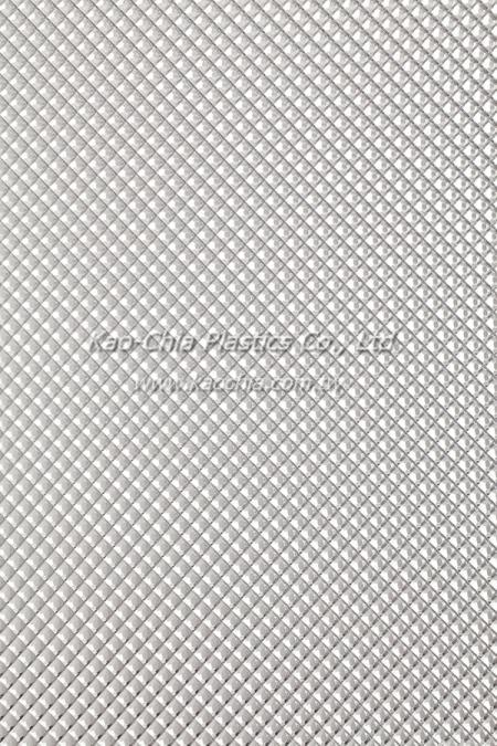 Folha padronizada GPPS Transparente-Grande Diamante