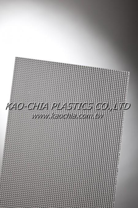 GPPS Sheet-Patterned Sheet-Transparent Dome