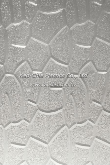 General Purpose Polystyrene Patterned Sheet - Arabesco