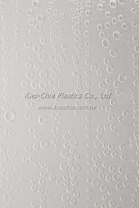 Folha padronizada GPPS transparente