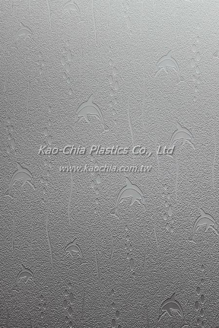 General Purpose Polystyrene Patterned Sheet - Dolphin