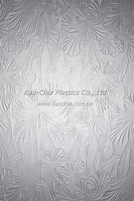 General Purpose Polystyrene Patterned Sheet - Flower