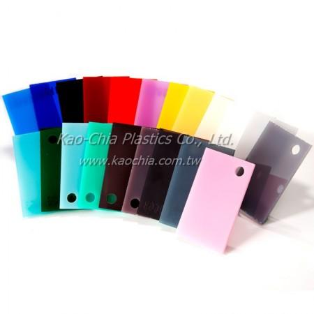 GPPS Flat Sheet Solid color