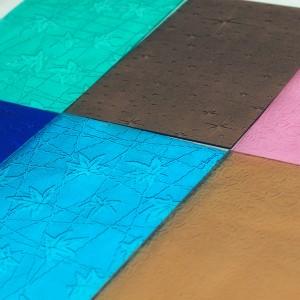GPPS Patterned Sheet Translucent