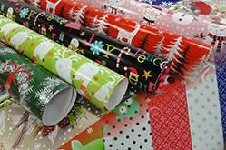 プレミアム品質のギフト包装紙の供給