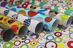 Fornitore di carta da regalo olografica Opp