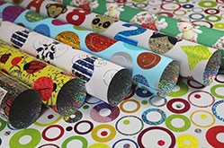 Supplier of Holographic Opp Gift Wrapping Paper