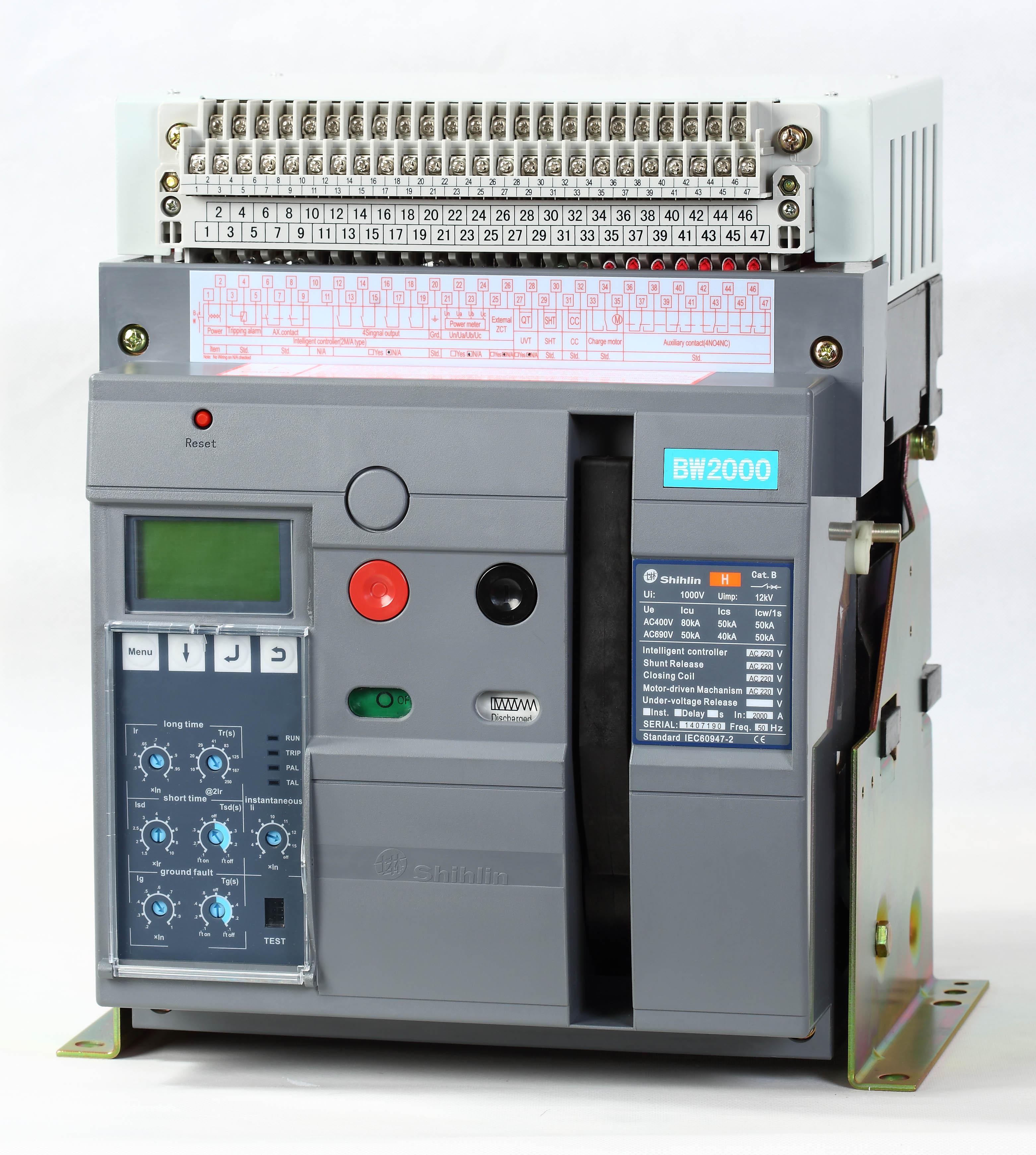 Shihlin Electric máy cắt không khí