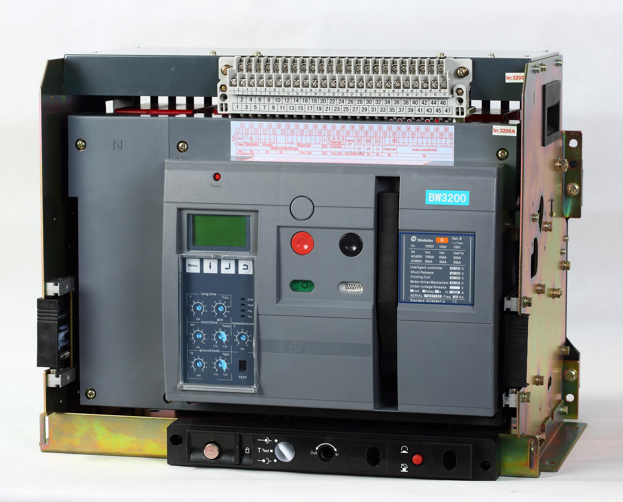 Shihlin Electric Bộ ngắt mạch khí BW-3200