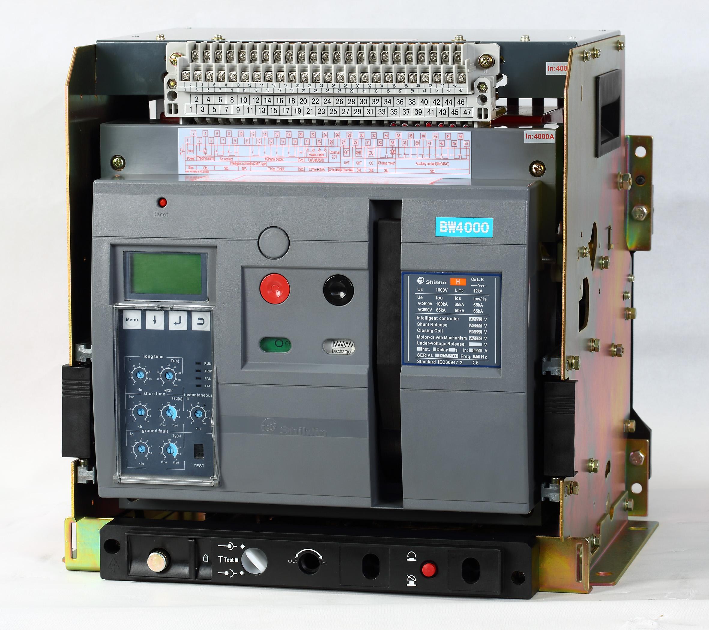 Shihlin Electric قاطع دارة الهواء BW-4000