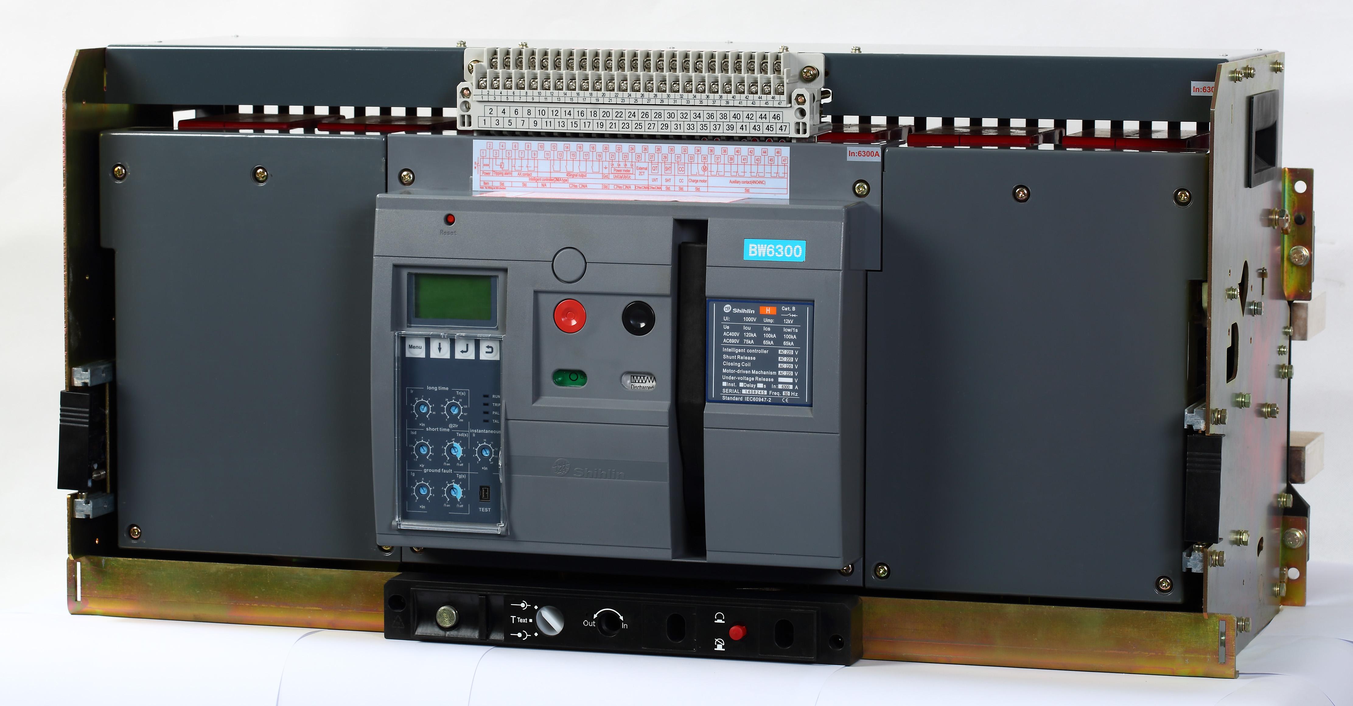 Shihlin Electric قاطع دارة الهواء BW-6300