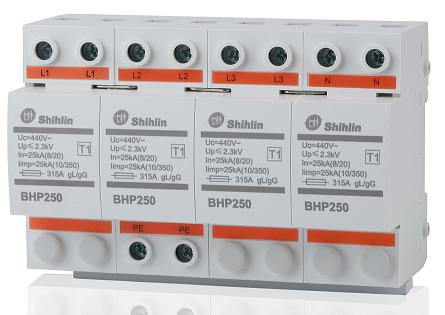 Dispositivo de proteção contra surtos Shihlin Electric BHP250