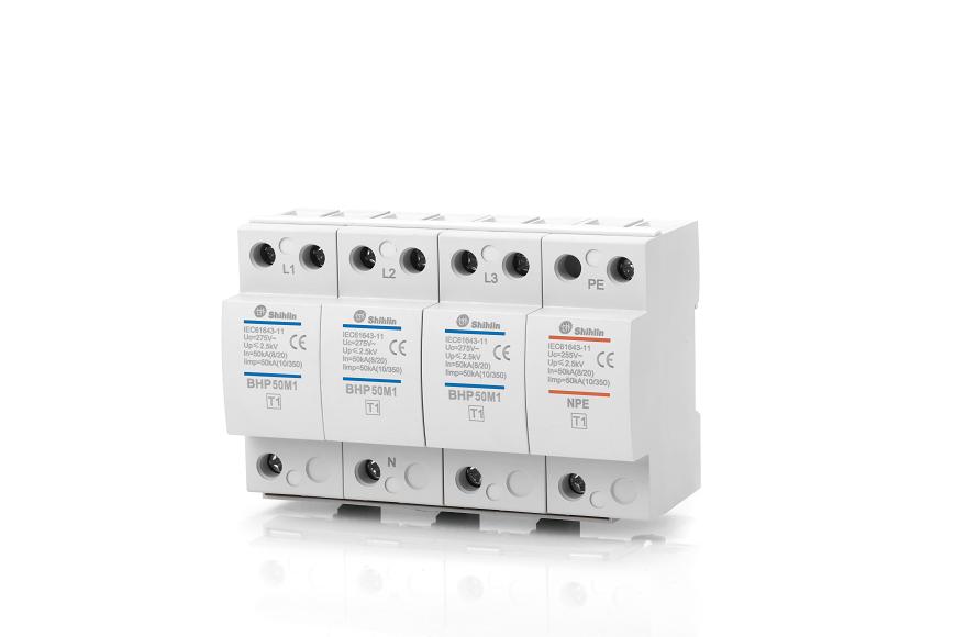 Dispositivo de protección contra sobretensiones Shihlin Electric BHP50M1