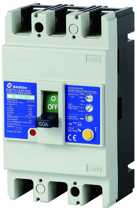 Shihlin Electric Earth Leakage Circuit Breaker BL100-SN