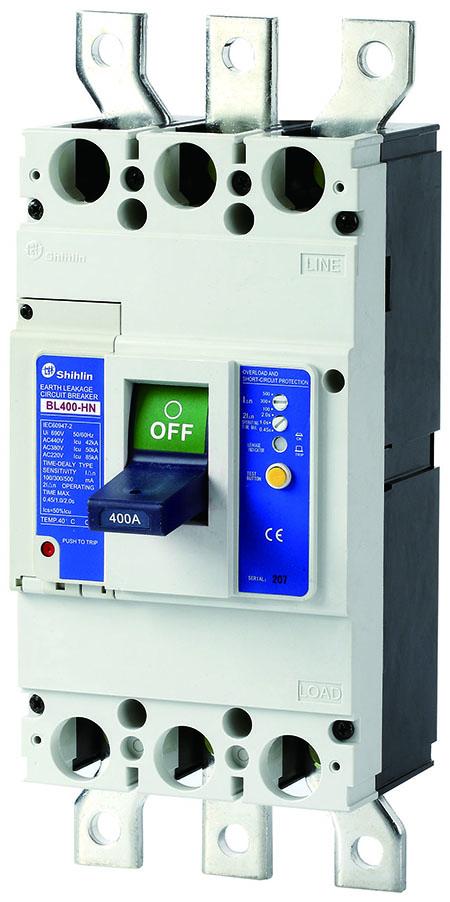Автоматический выключатель утечки на землю Shihlin Electric BL400-HN