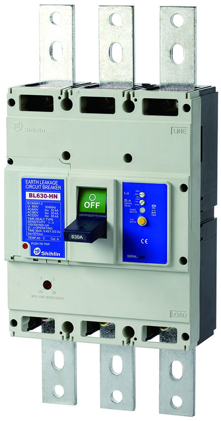 Автоматический выключатель утечки на землю Shihlin Electric BL630-HN