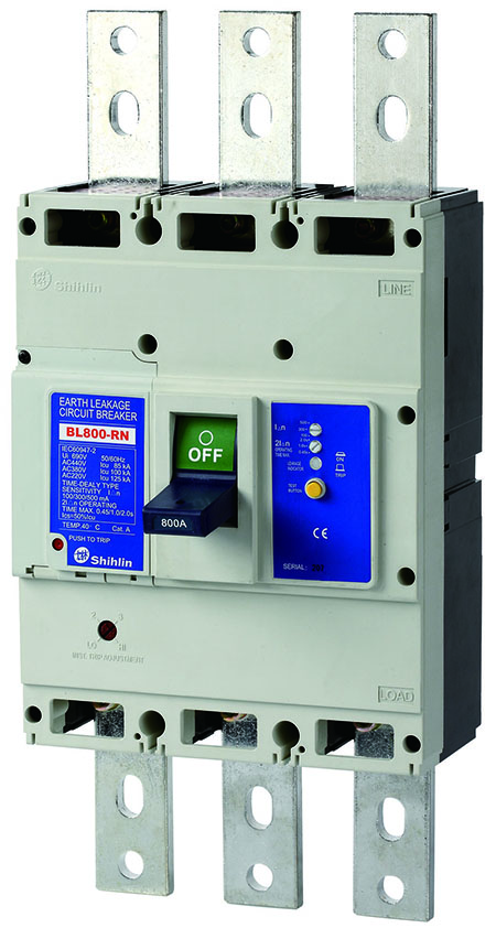 Shihlin Electric Earth Leakage Circuit Breaker BL800-RN