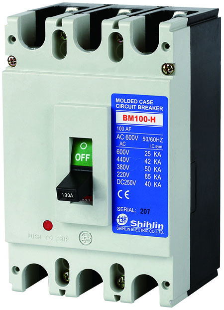 Shihlin Electric Molded Case Circuit Breaker BM100-H