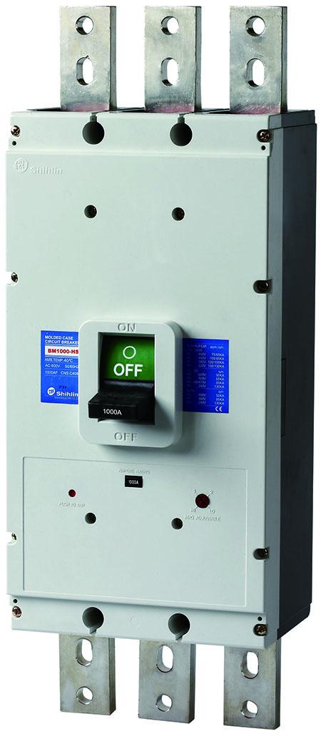 Автоматический выключатель в литом корпусе Shihlin Electric BM1000-HS