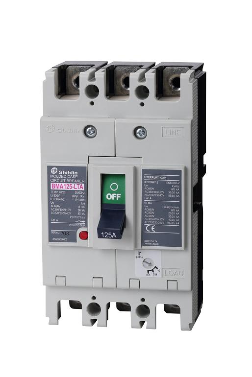 Shihlin Electric Disjuntor em caixa moldada série BMA