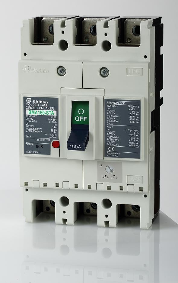 Shihlin Electric Автоматический выключатель в литом корпусе BMA160