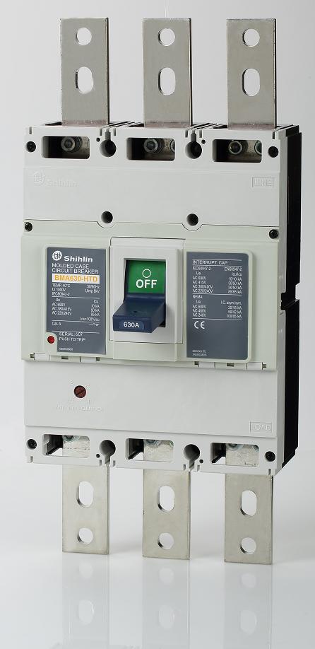 Disjuntor em caixa moldada Shihlin Electric BMA630