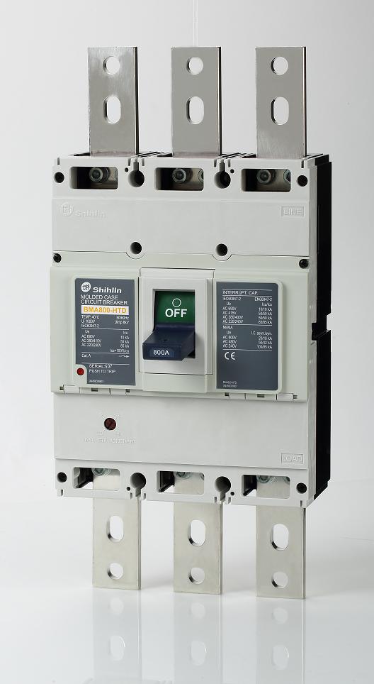 Shihlin Electric Disjuntor em caixa moldada BMA800