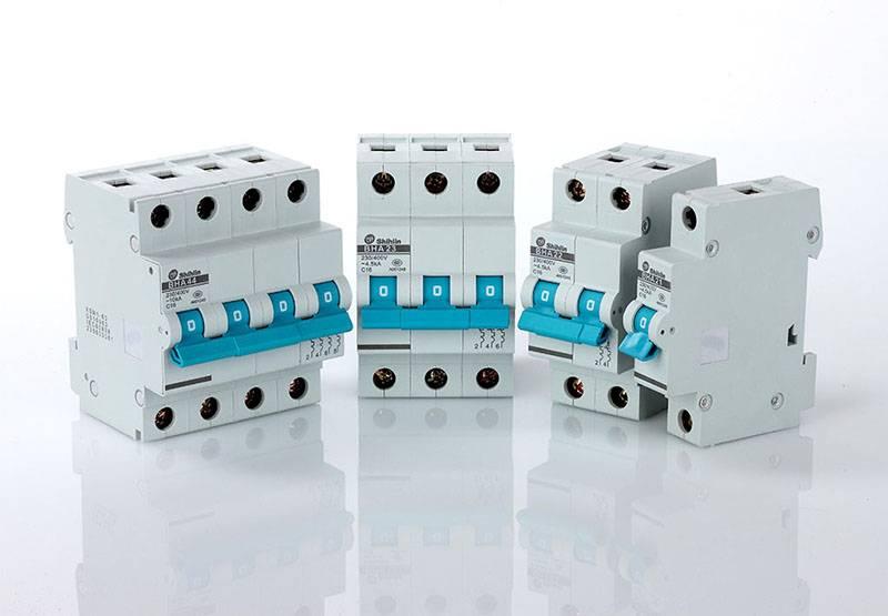 Shihlin Electric Disjuntor miniatura tipo europeu padrão IEC