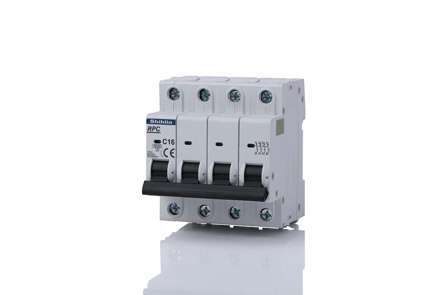 Shihlin Electric Miniatur Pemutus Sirkuit RPC