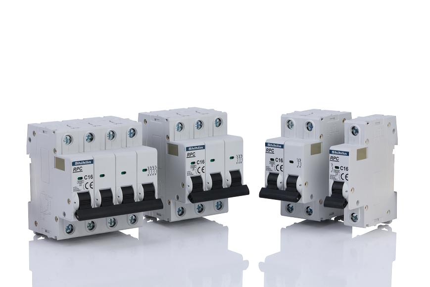 Shihlin Electric Disjuntor miniatura série RP