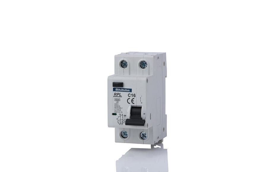Shihlin Electric Pemutus Sirkuit Arus Sisa dengan RPL Proteksi Arus Lebih