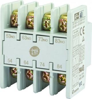 Bloque de contactos auxiliares - Shihlin Electric Bloque de contactos auxiliares AP-4P Tipo frontal