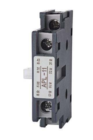 Bloque de contactos auxiliares - Shihlin Electric Bloque de contactos auxiliares tipo AP-lateral
