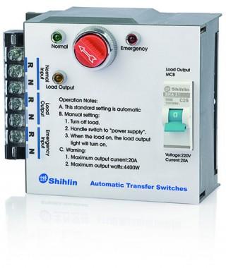 Chave de transferência automática - Shihlin Electric Chave de transferência automática tipo MS