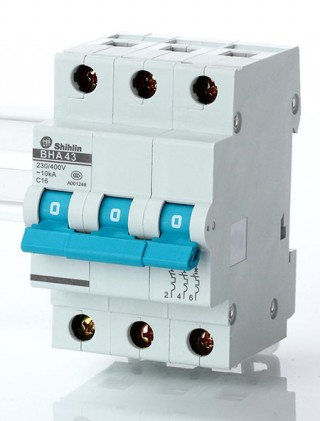 Pemutus Sirkuit Miniatur - Shihlin Electric Miniatur Pemutus Sirkuit BHA