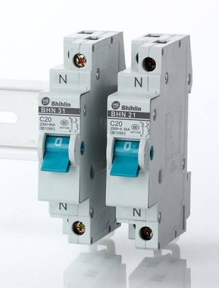 Disjuntor miniatura - Shihlin Electric Disjuntor miniatura BHN