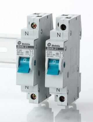 Pemutus Sirkuit Miniatur - Shihlin Electric Miniatur Circuit Breaker BHN