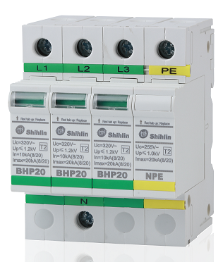 Thiết bị bảo hộ khẩn cấp - Shihlin Electric Thiết bị bảo vệ chống sét lan truyền BHP20