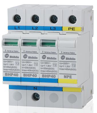 Thiết bị bảo hộ khẩn cấp - Shihlin Electric Thiết bị bảo vệ chống sét lan truyền BHP40