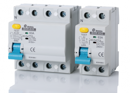 Residual Current Circuit Breaker - Shihlin Electric Residual Current Circuit Breaker BHR-A