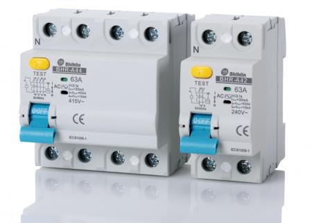 Disjuntor de corrente residual - Shihlin Electric Disjuntor de corrente residual BHR-A
