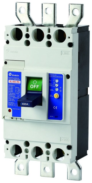 Earth Leakage Circuit Breaker - Shihlin Electric Earth Leakage Circuit Breaker BL400-RN